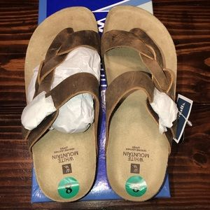Shoes - White mountain size 8 sandals